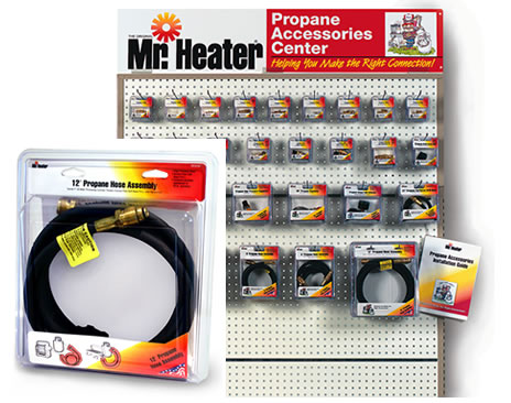 Mr. Heater Propane Parts Packaging